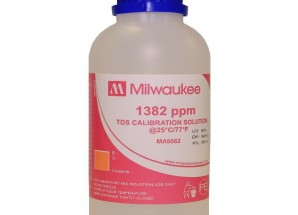1413 µS/cm Conductivity Calibration Solution, 230 mL Milwaukee